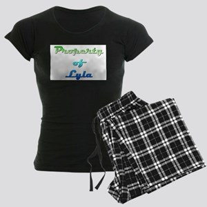 Property Of Lyla Female Pajamas